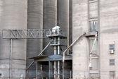 Silo ambar sanayi bölgesi ayrıntı — Stok fotoğraf