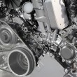 Stock Photo: Powerful car engine new technology