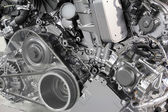 Powerful car engine new technology — Stock Photo