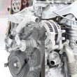 Front view car engine detail — Stock Photo #24465911