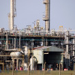 Petrochemical plant detail heavy industry — Stock Photo