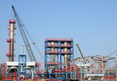 Factory construction site industry zone — Stock Photo