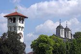 Kovilj orthodox monastery Serbia Eastern Europe — Stock Photo