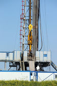 Top drive system oil drilling rig — Stock Photo