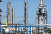 Oil industry petrochemical plant  — Foto Stock