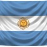 National Flag Argentina — Stock Photo #1649317