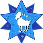 Zodiac sign capricorn — Stock Vector #1739465