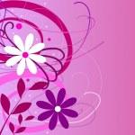 Flower background purple pink — Stock Photo #1749944