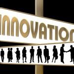 Business Motivation Sign Innovation — Stock Photo #1749983