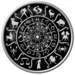 Zodiac Disc black — Stock Photo #1750669