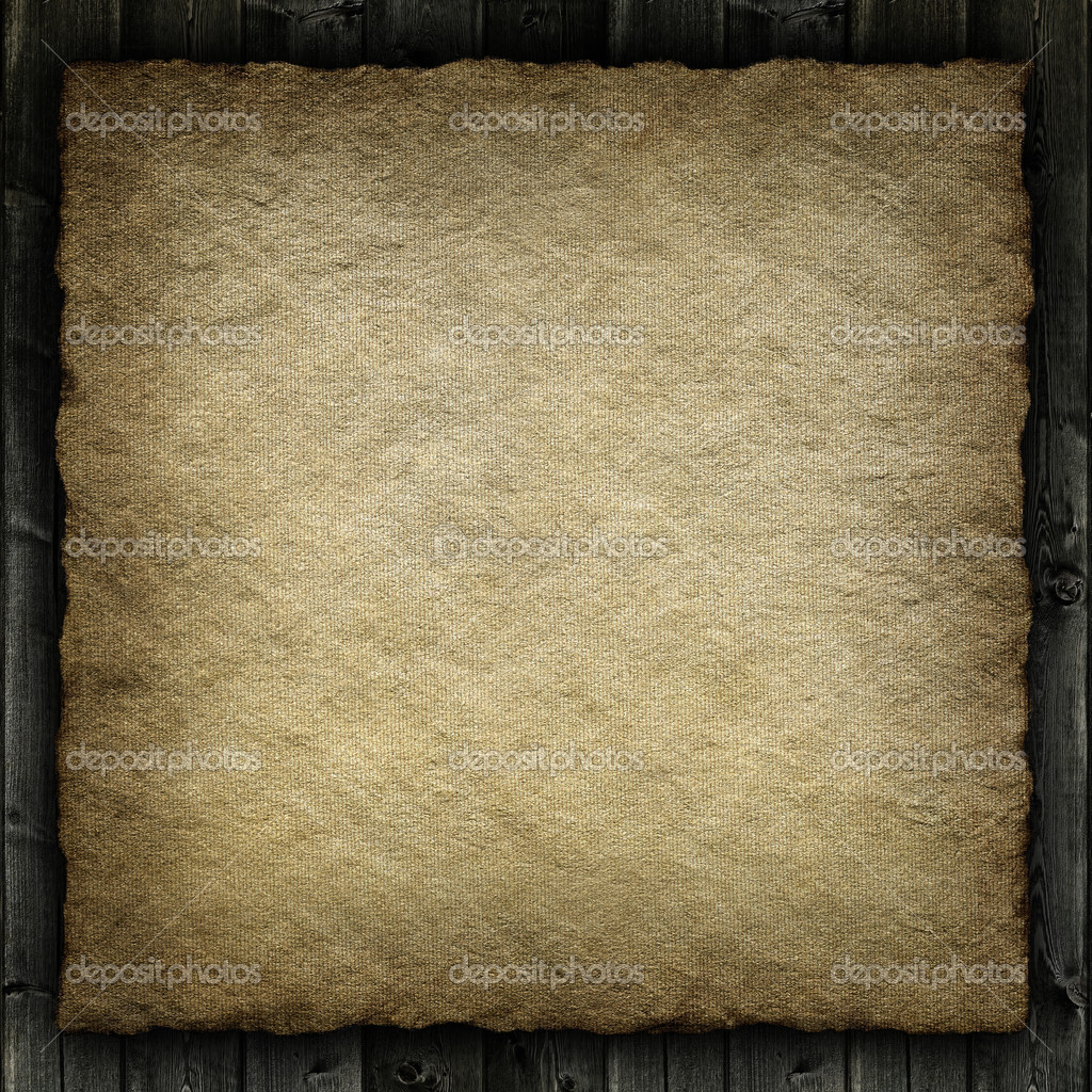 Template background - Old crumpled handmade paper  Stock Photo #13370388