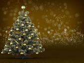 Kartki świąteczne na ciemny kolor złoty — Zdjęcie stockowe