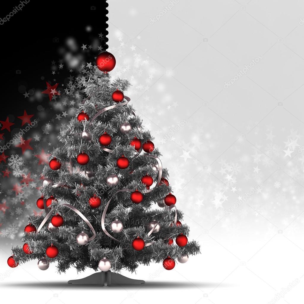 Plantilla De Tarjeta De Navidad 225 Rbol De Navidad Sobre