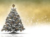 クリスマス ツリーと空白スペース — ストック写真