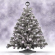 Christmas decoration - xmas tree — Stockfoto