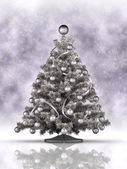 Christmas decoration - xmas tree — Stock Photo