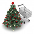 Christmas shopping — Stock Photo #35787545