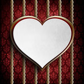 Background template of card on Valentine's day — Stock Photo