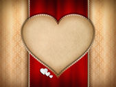 Valentines Day card background — Stock Photo