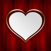 Valentines Day background template — Stock Photo