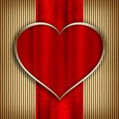 Valentine's Day - background template — Foto de Stock