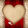 Foto Stock: Valentines Day card design