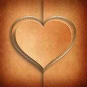 Walentynki karty szablon — Zdjęcie stockowe