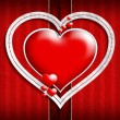 Valentine Day background template — Стоковое фото