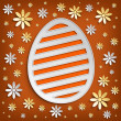 Stock Photo: Happy Easter card background