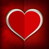 Happy Valentine's - background template — Stock Photo