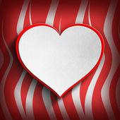 Valentín feliz - plantilla de tarjeta de felicitación — Foto de Stock