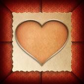 Szablon tło valentine dzień — Zdjęcie stockowe