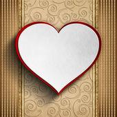 Plano de fundo dia dos namorados - cartão modelo — Fotografia Stock