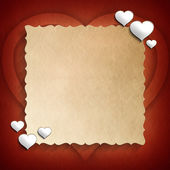 Valentine Day background template — Stock Photo