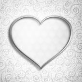 Valentine's Day - greeting card background template — Stock Photo