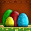 Stock Photo: Happy Easter greeting card