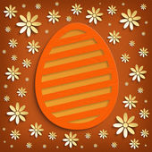 Easter card - background template — Stock Photo