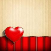 Valentine's Day card background — Stock fotografie