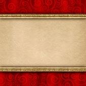 Dubbellaagse achtergrond sjabloon — Stockfoto