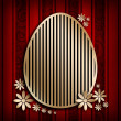 Happy Easter card background — Stock Photo