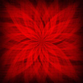 Red rosette - patterned background or texture — Stock Photo