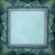 Blank paper sheet in picture frame on rosette background — Stock Photo #41100455