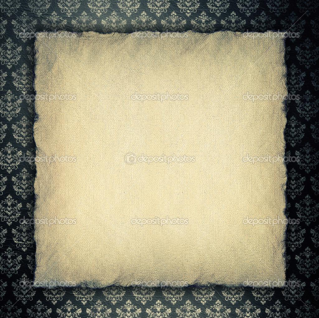 Blank paper sheet on wallpaper background Photo digieye – Blank Paper Background