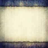 Blank paper sheet on grunge background — Stock Photo