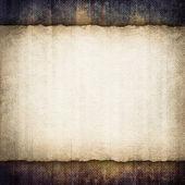 Blank paper sheet on grunge background — Stock fotografie