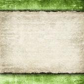 Handmade paper on grunge background — Stock Photo