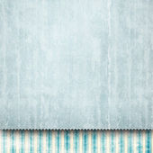 Blank paper sheet on patterned background — Stock Photo