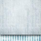 Feuille de papier vierge sur fond à motifs — Photo