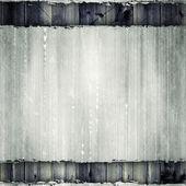 Folha de papel no fundo de pranchas — Fotografia Stock