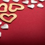 Valentine background - hearts — Stock Photo #6700568